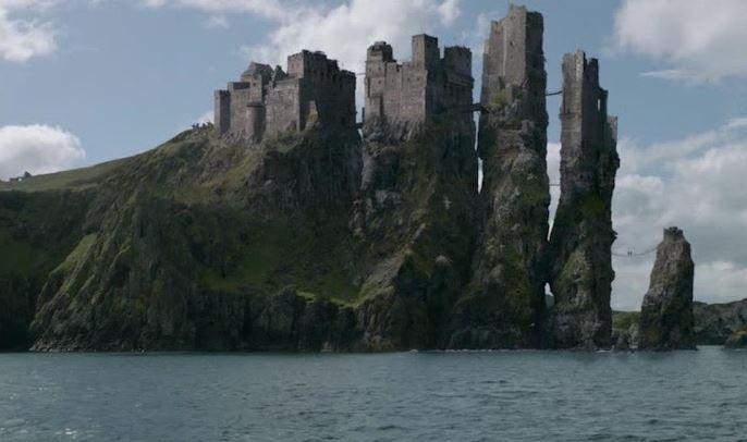 Pyke kasteel - Game of Thrones