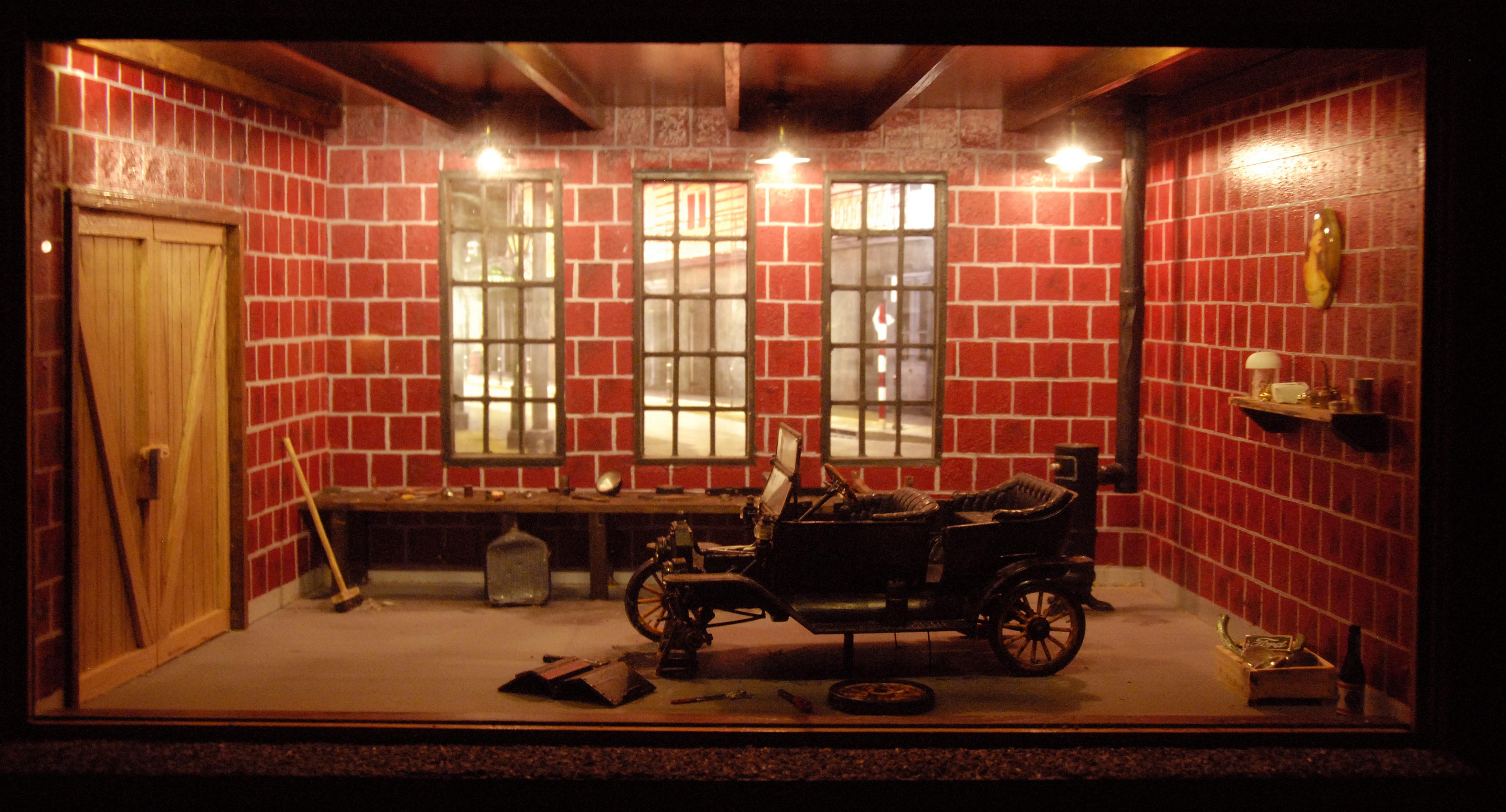 Particuliere garage 1926 - Fantasiorama - The Art of ...