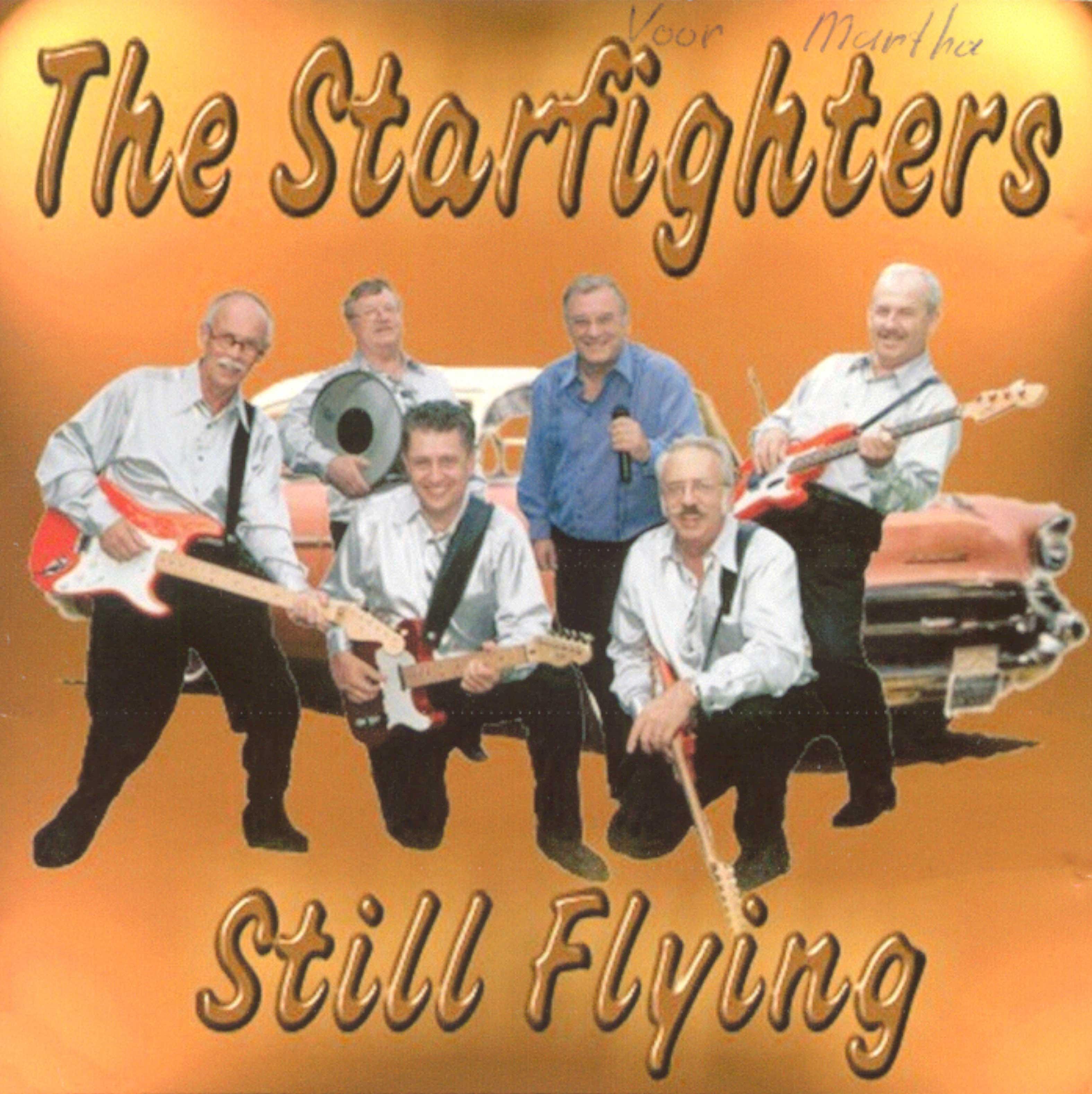 CD The Starfighters Still Flying